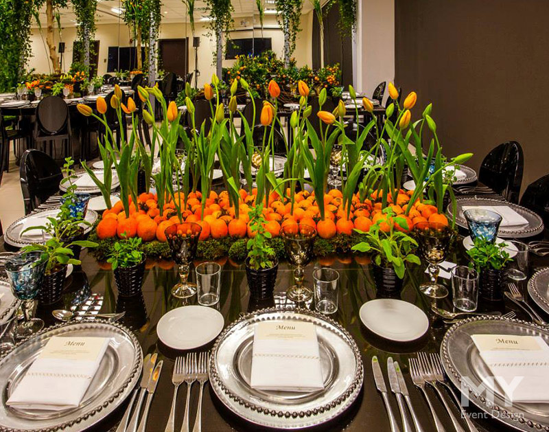 My Event Design | The Orange Garden