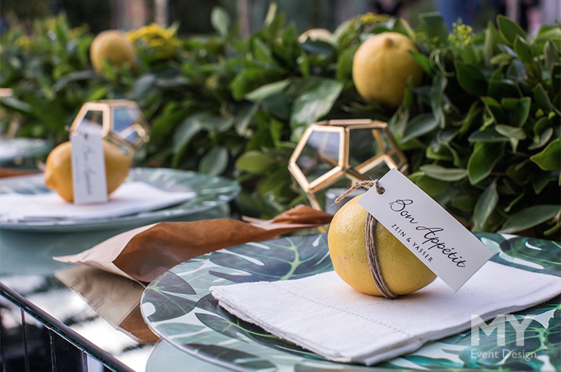 My Event Design | Lemon Garden